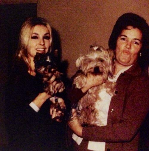 Sharon and mom