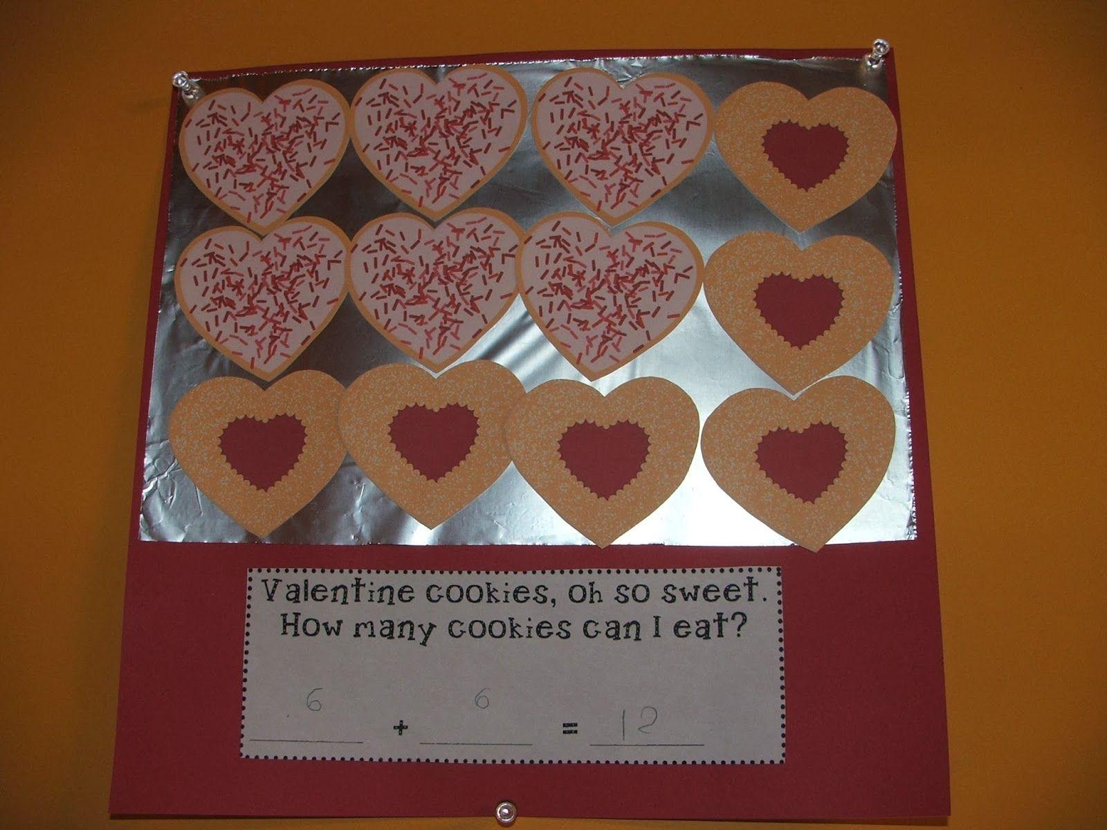 Valentine S Day Cookie Addition Craft