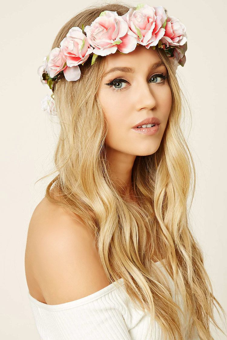 A flower crown headwrap featuring rose embellishments accessories a flower crown headwrap featuring rose embellishments izmirmasajfo