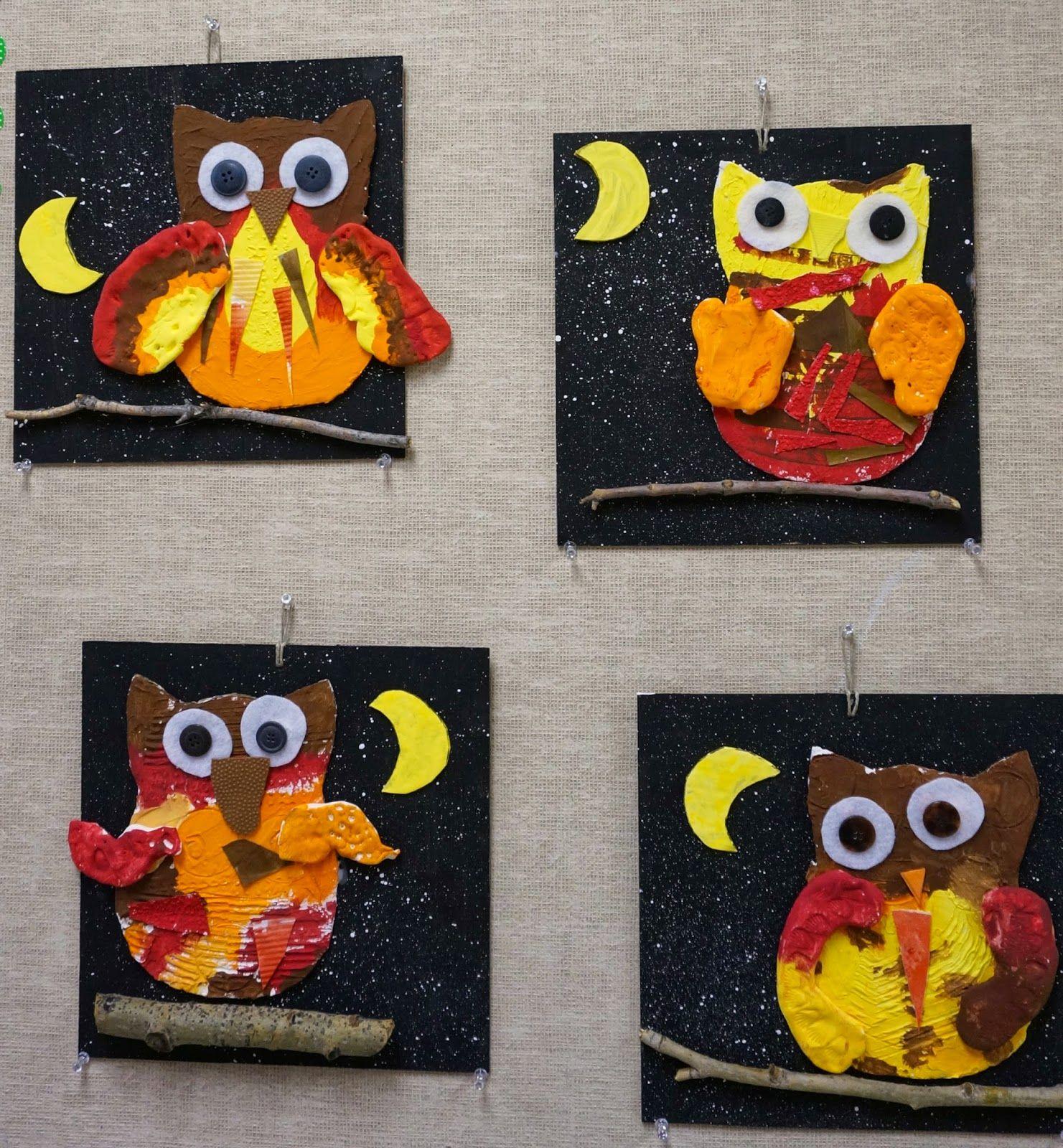 That Artist Woman Autumn Owls