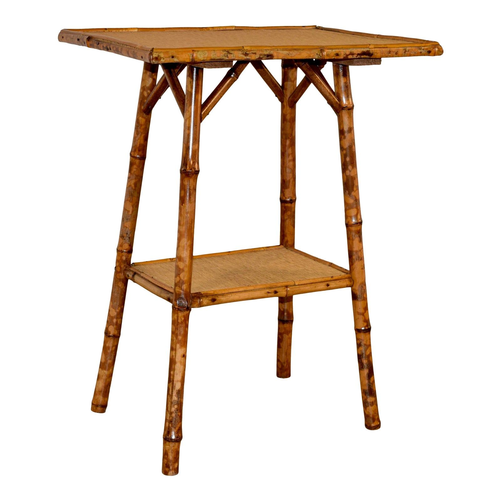 19th C Tortoise Bamboo Table in 2020 Bamboo table, Table