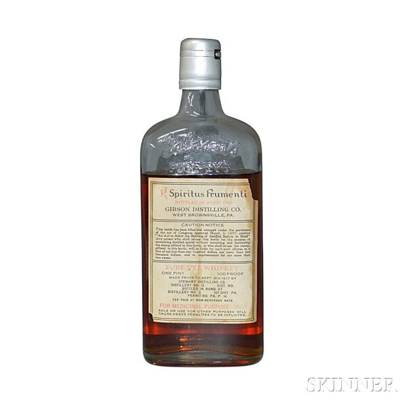 Gibson S Ancient Special Reserve 1 Pint Bottle Current Price 175 Bottle Bottles For Sale Distillation
