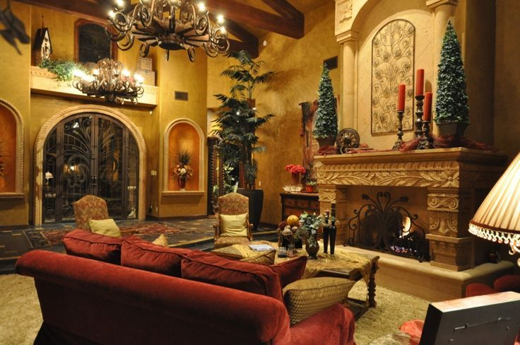 34 stunning tuscan interior designs living rooms decorating and room