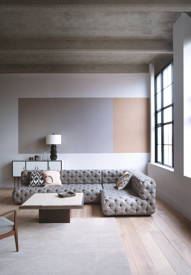 In a minimalist living room is a great way to add colour and interest to your home read our full feature for the top colour trends in interior design