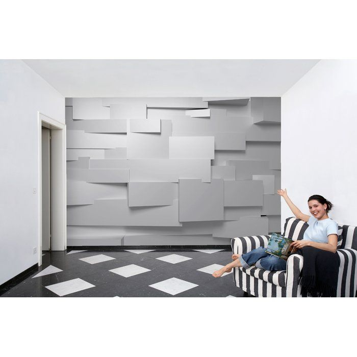 3d Wall 254cm X 366cm 8 Piece Wallpaper Panel Papier Peint