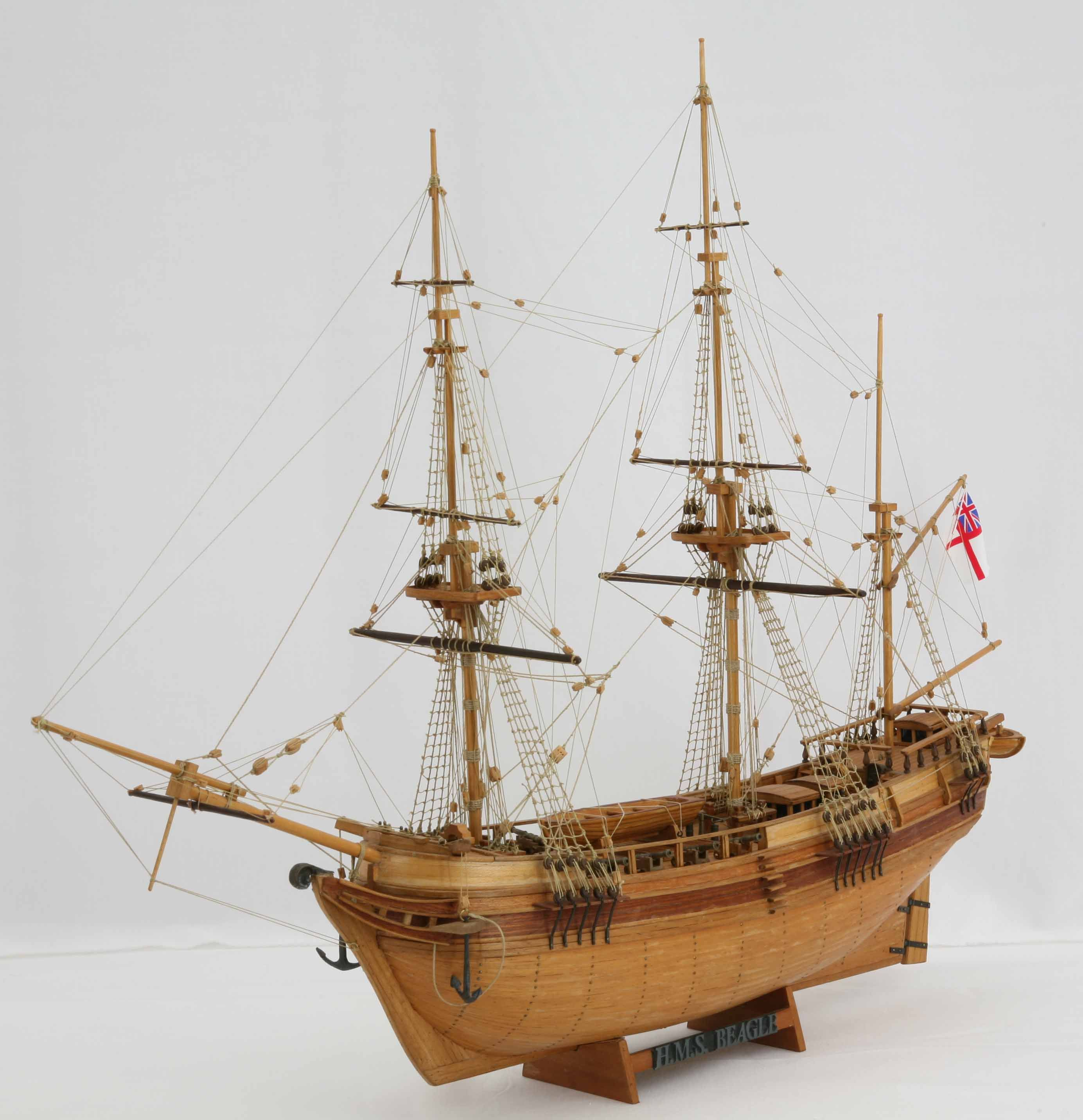 Ship Model Hms Beagle Of 1820 Saved By Stephen Lok Start