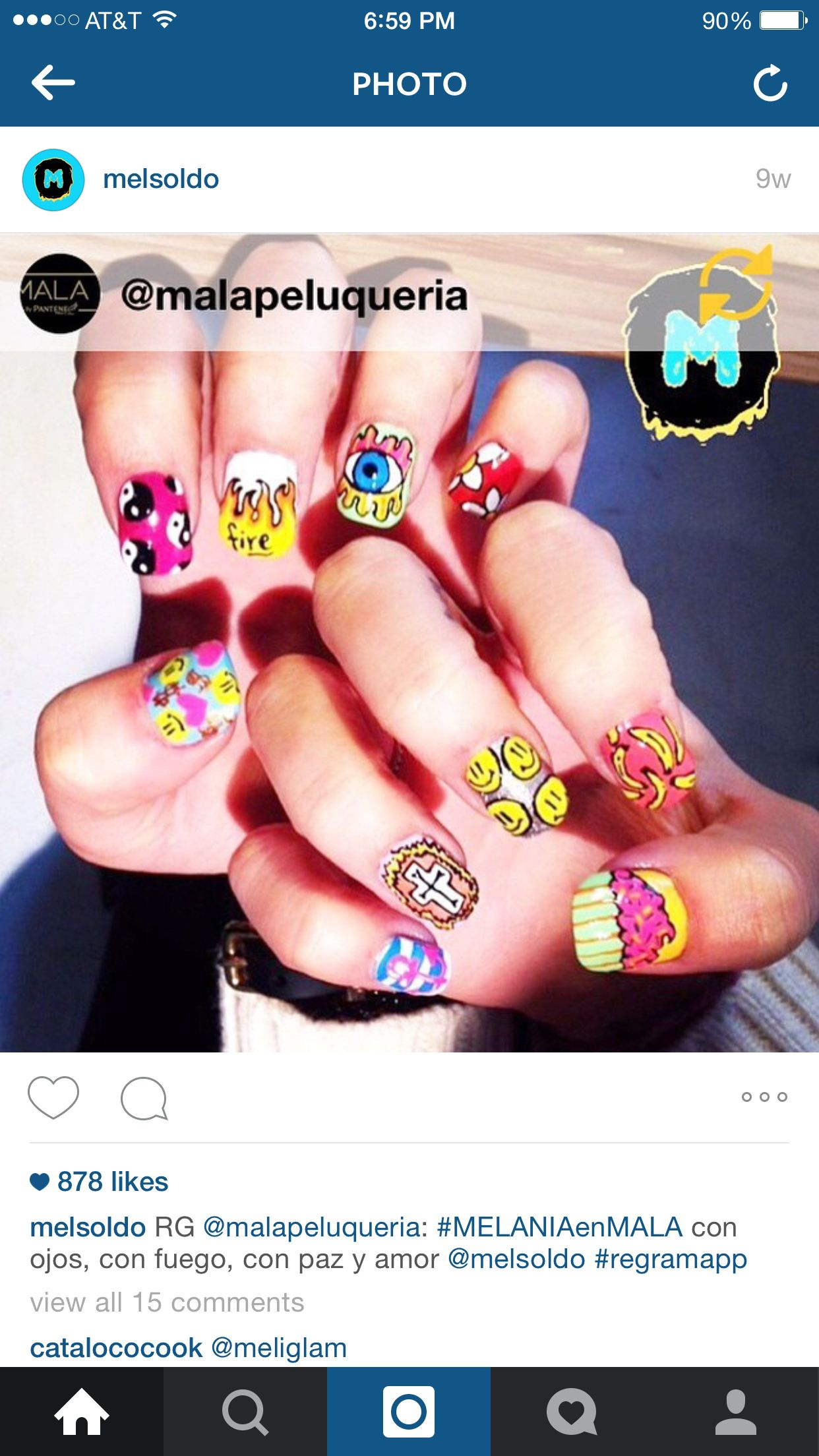 Crazy nails!!! Funny and artistic nails, loving the different ...
