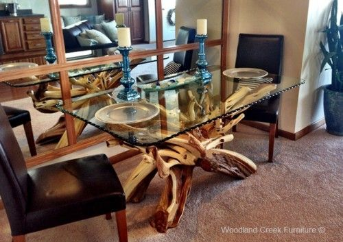 Image Result For Driftwood Kitchen Table Base With Images