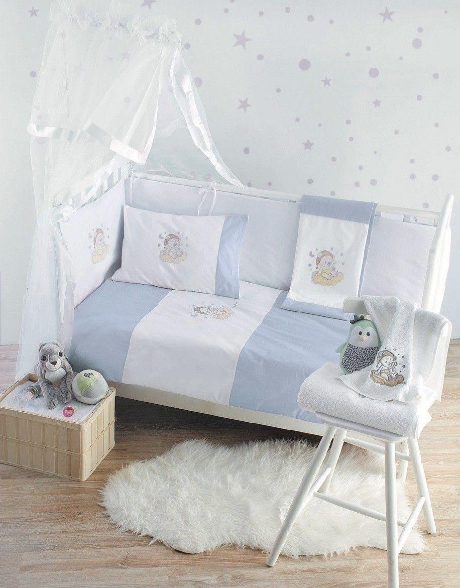 2c6e3b548fe Makis Tselios sweet blue | προίκα μωρού | Toddler bed, Home Decor ...