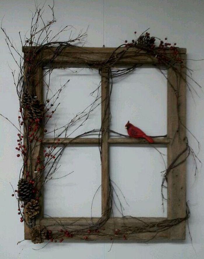 Ideas for Decorating Old Windows | alte Fensterrahmen, Fensterrahmen ...