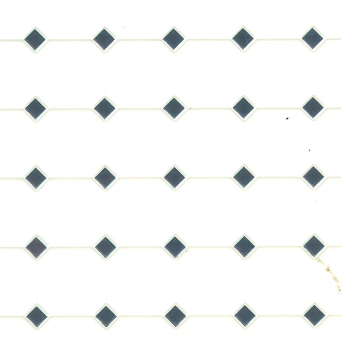 11X15 Blue Flooring FF60650 Dollhouse Building Supplies Diamond