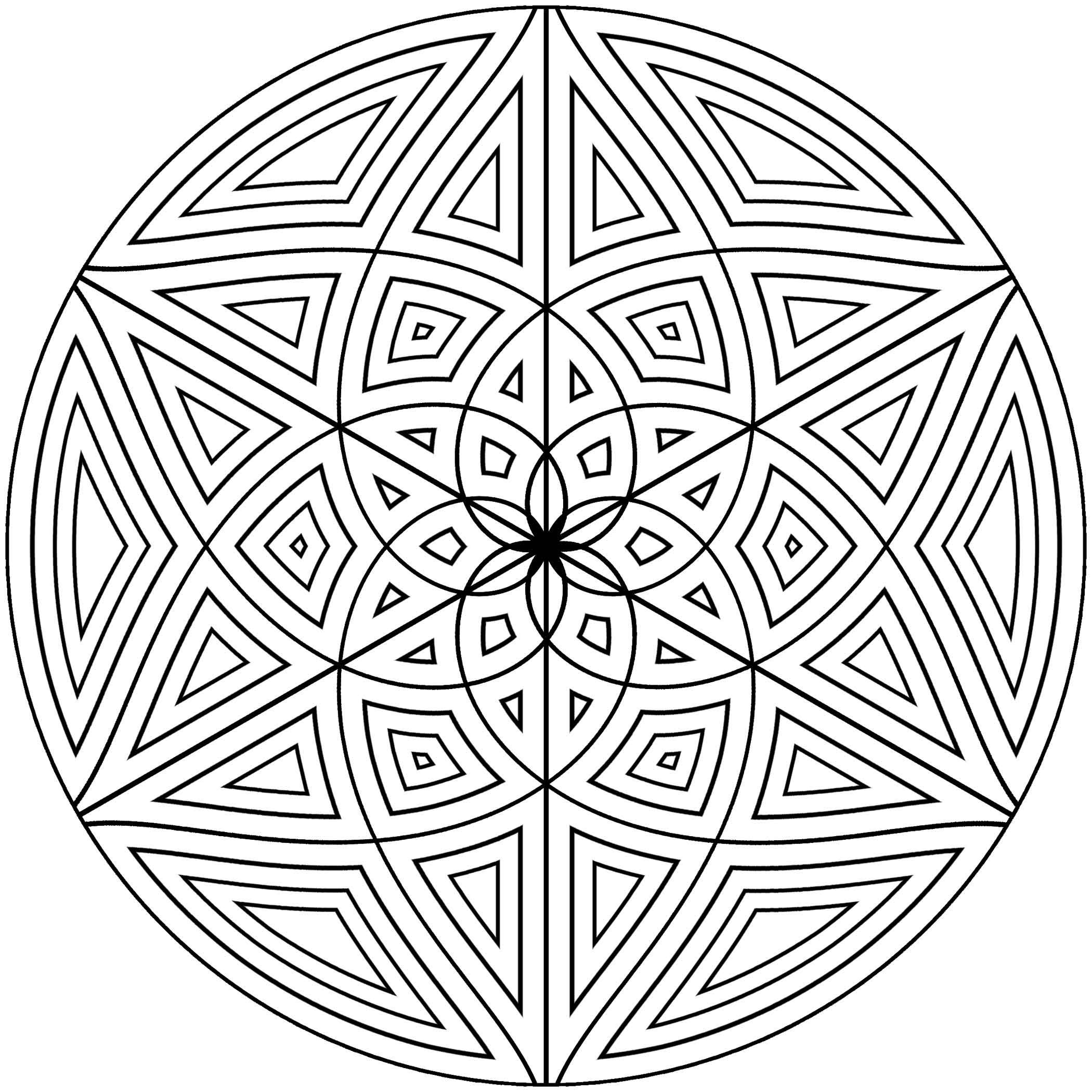 Free Printable Geometric Coloring Pages For Adults Geometric Coloring Pages Designs Coloring Books Geometric Patterns Coloring