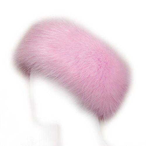 721e4f82b79 Futrzane Faux Fur Headband For Women Winter Earwarmer Ear... https