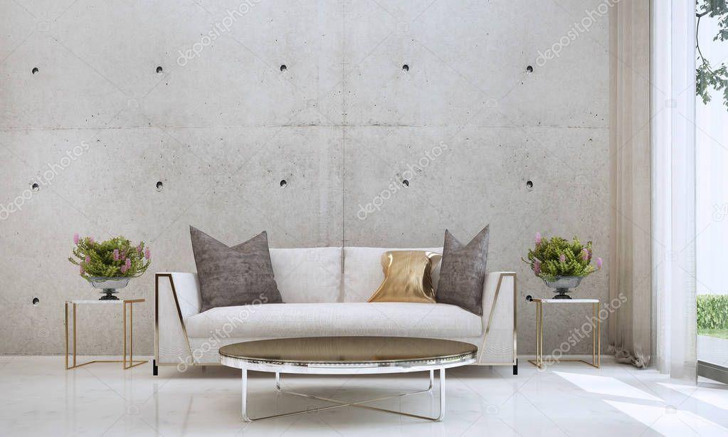 Modern Living Room Interior Design Concrete Wall Texture Background Sto Spon Interior Des Modern Living Room Interior Modern Living Room Room Interior