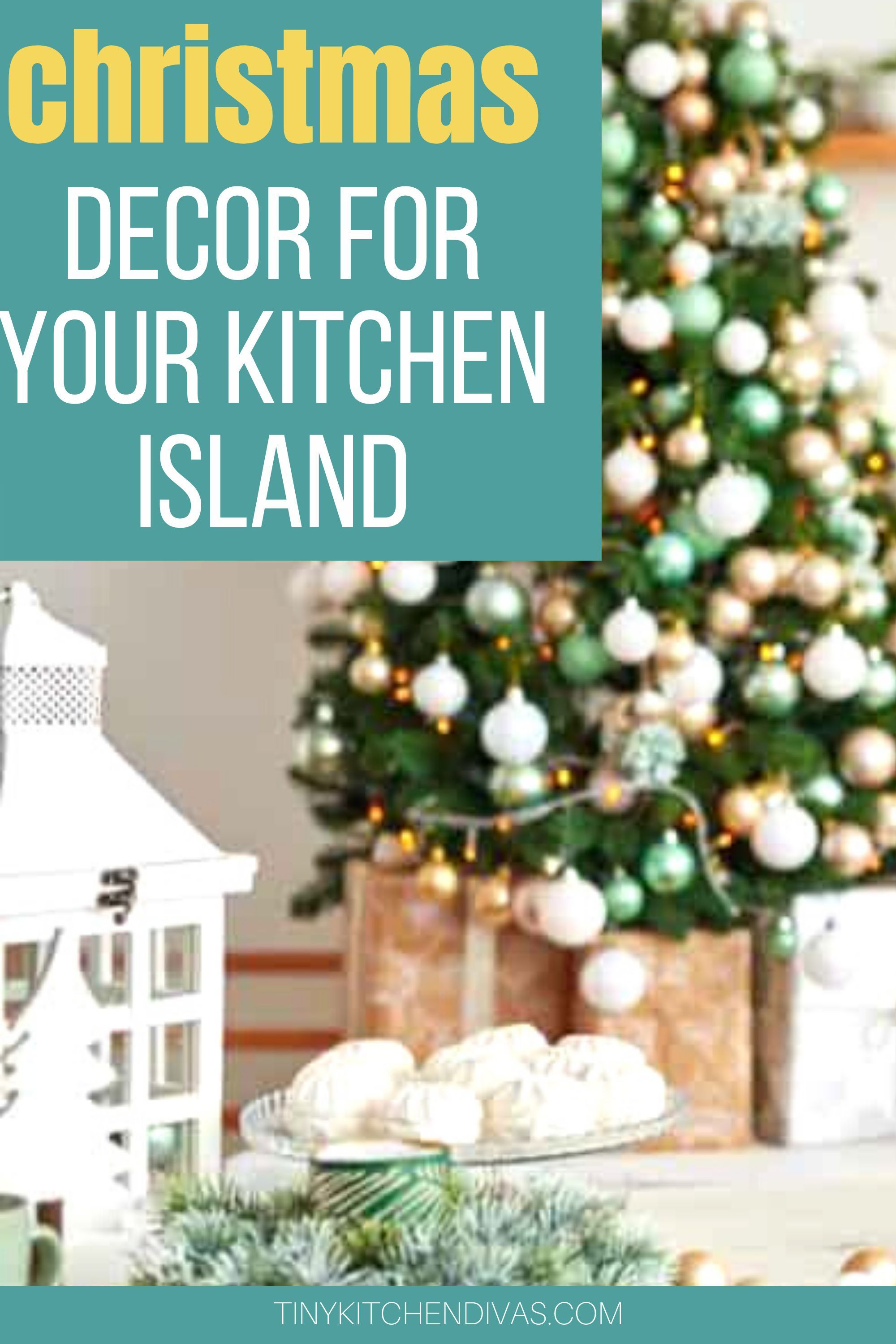 Want to know how to decorate the kitchen island for Christmas without spending a lot of money? Check out the blog to know tips on kitchen island decor for christmas,kitchen cabinet decor and learn how to decorate top of kitchen cabinets like a pro.Check out how to use cabinet ribbons,bows,Christmas stickers,hanging Ivy Wreath and add add plenty of liveliness ,joy to your kitchen ! #kitchendecor,#kitchenisland,#christmasdecor,#christmaskitchen,#kitchenislanddecor,#holidaydecor,#christmas