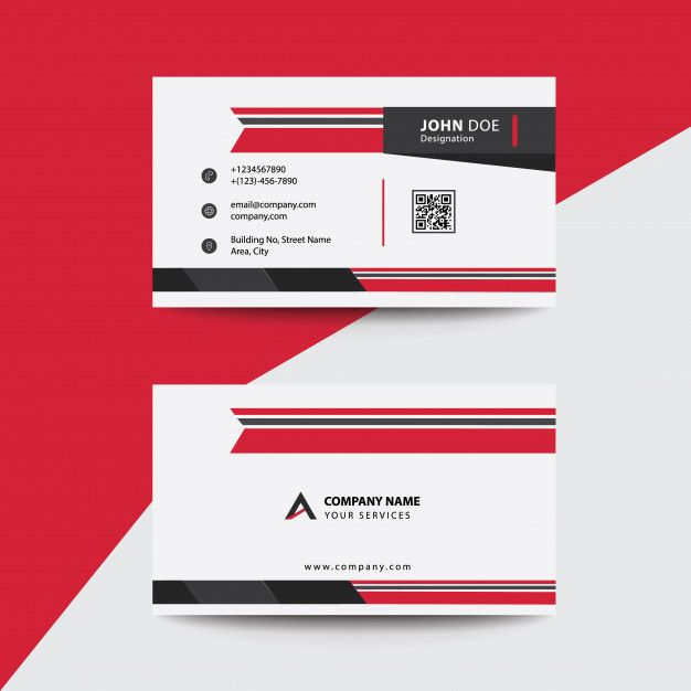 Download Free Flat Clean Corporate Business Flyer Template: Clean Flat Red And Black Premium Corporate Business