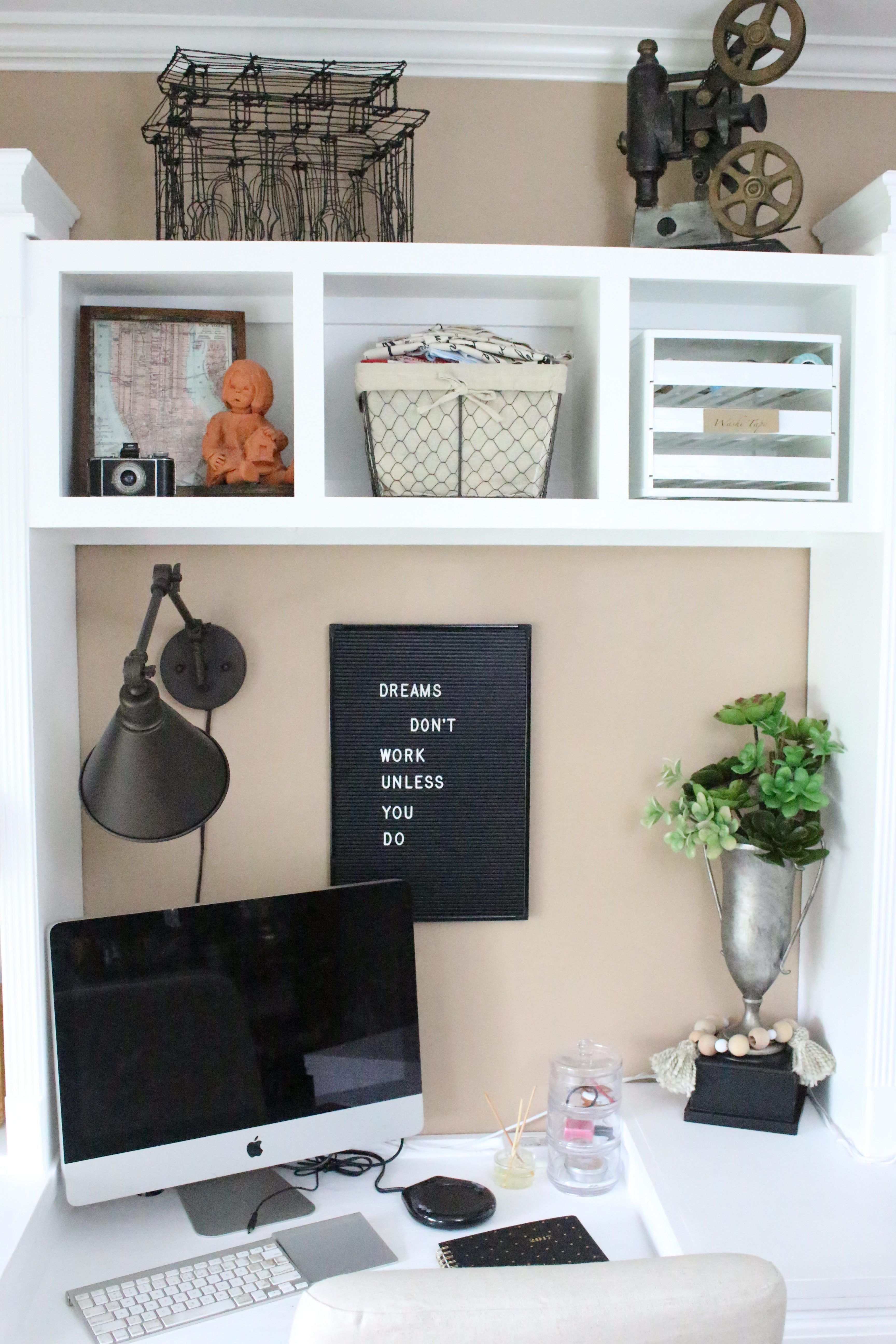 Home Office Decor. Home business office and home study design and ...