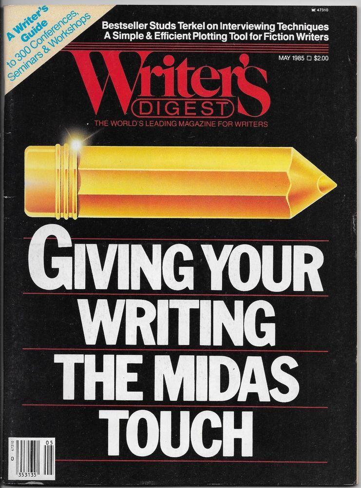 Writeru0027s Digest 1985 May Plotting Tool Seminars Workshops - interview workshop