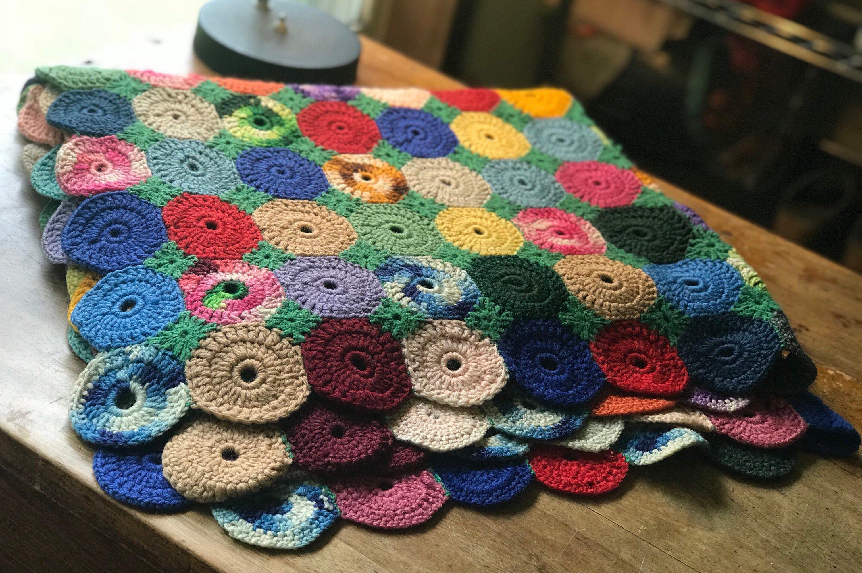 anime knit throw blanket