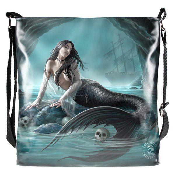 Nemesis Now Free Postage Gorgeous Anne Stokes Sailors Ruin Lamp Mermaid