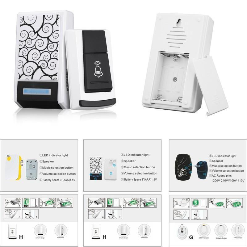 Smart home gadgets video door bell, LCD Digital Kitchen