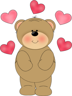 35+ Valentines Day Clipart Bear