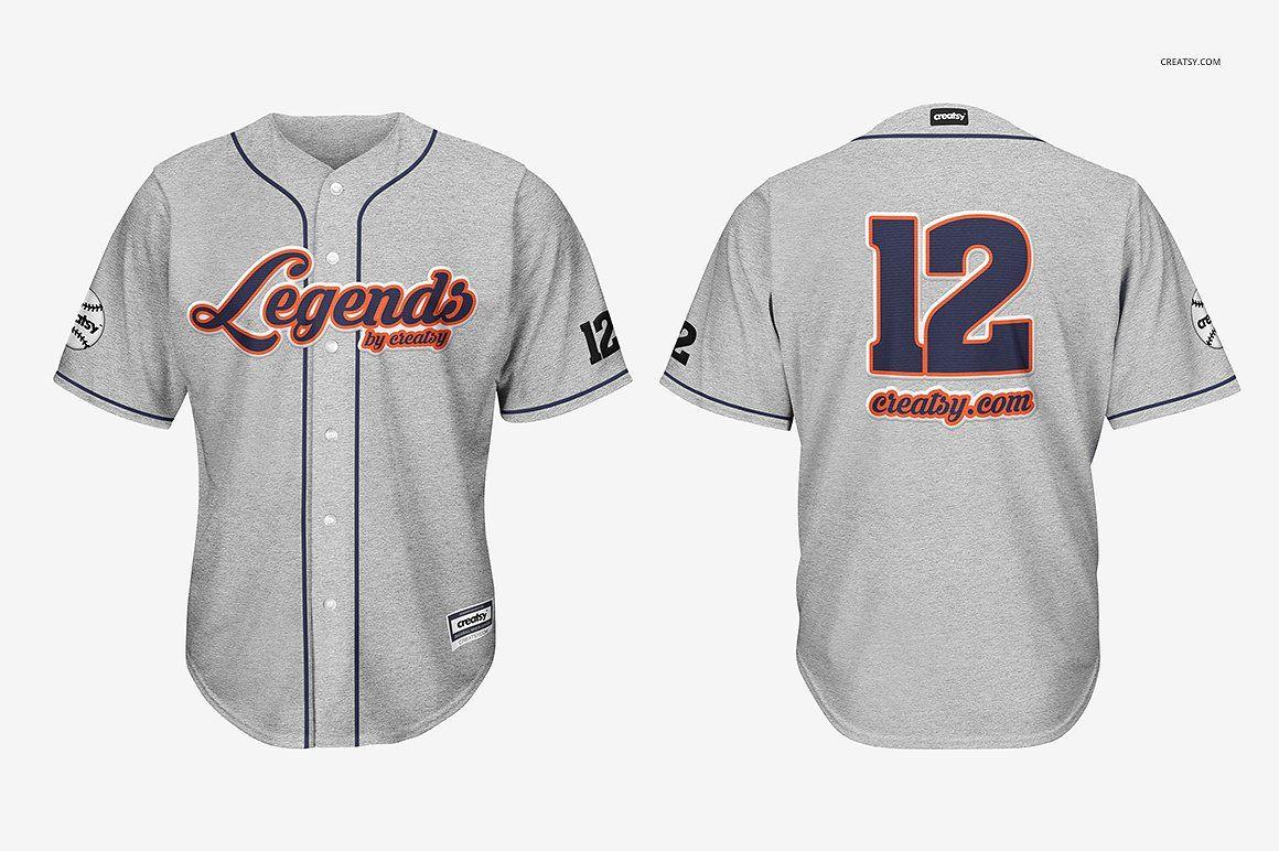 Download Baseball Jersey Mockup Set Clothing Mockup Jersey Baseball Jerseys