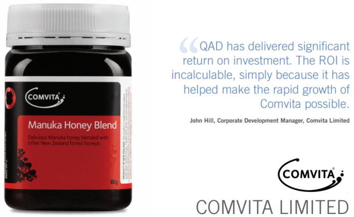 Comvita QAD Customer Customer Success