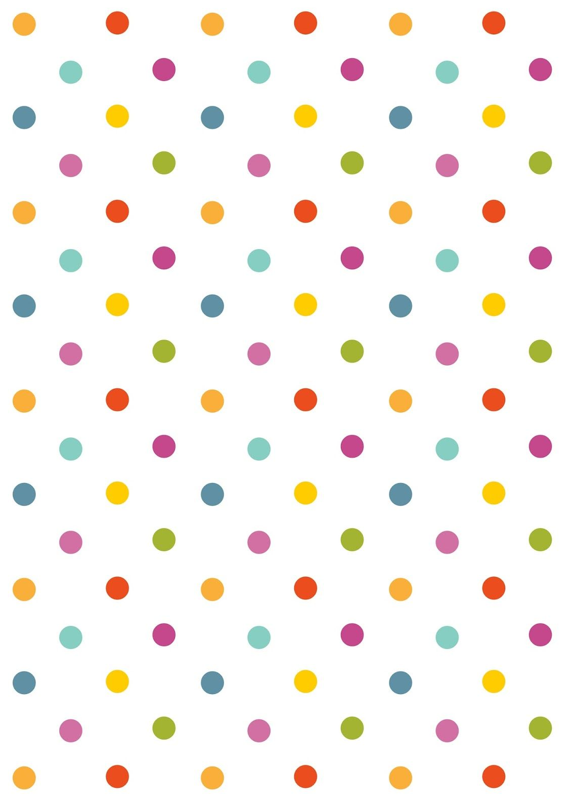 graphic regarding Free Printable Backgrounds for Paper titled Free of charge electronic polka dot sbooking paper - ausdruckbares