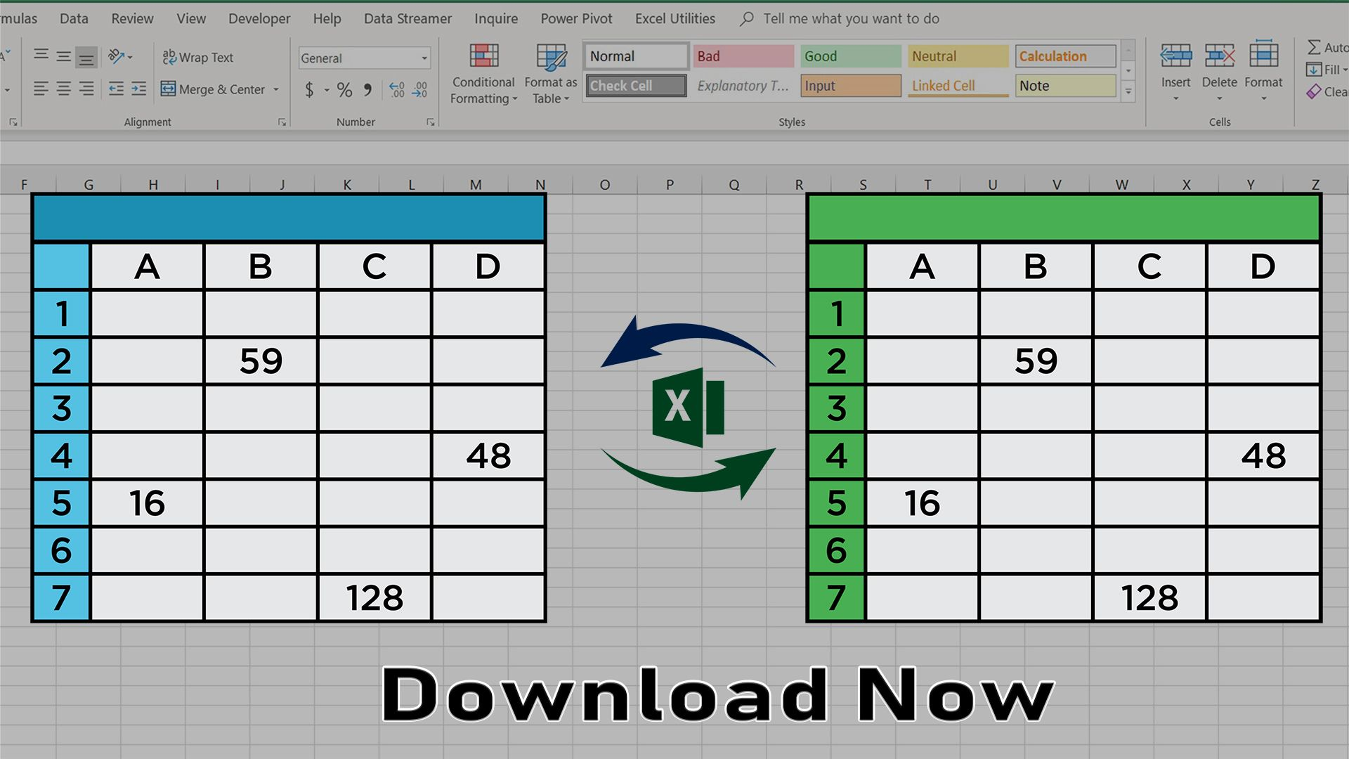 Compare two excel sheets and find matches and differences