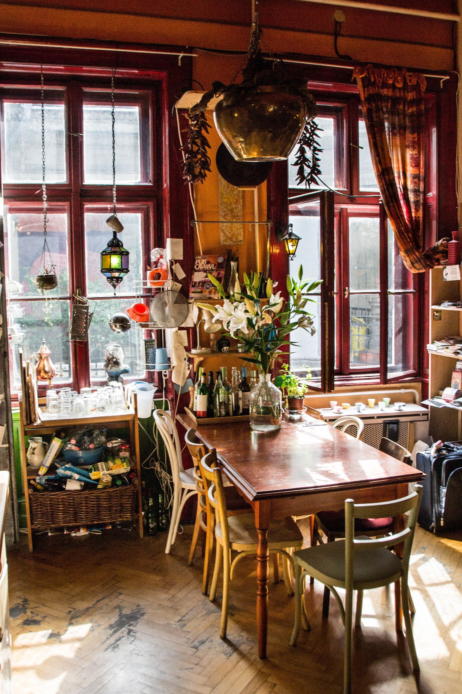 A Hostel with Chairs on the Wall - A Review of Lavender Circus Hostel, Budapest. — Wandering Class