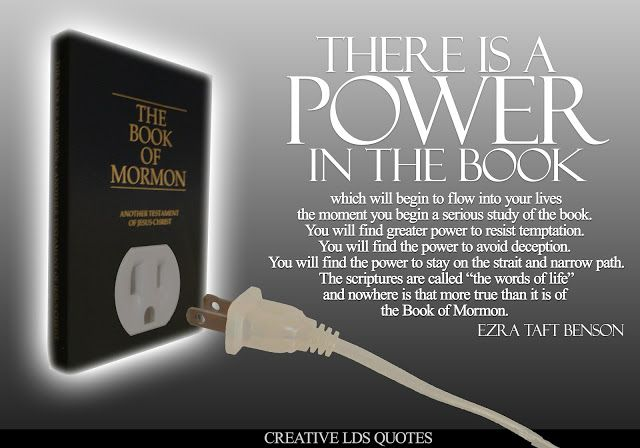 Just Finished The Book Of Mormon Challenge This Is So True LDS Adorable Book Of Mormon Quotes