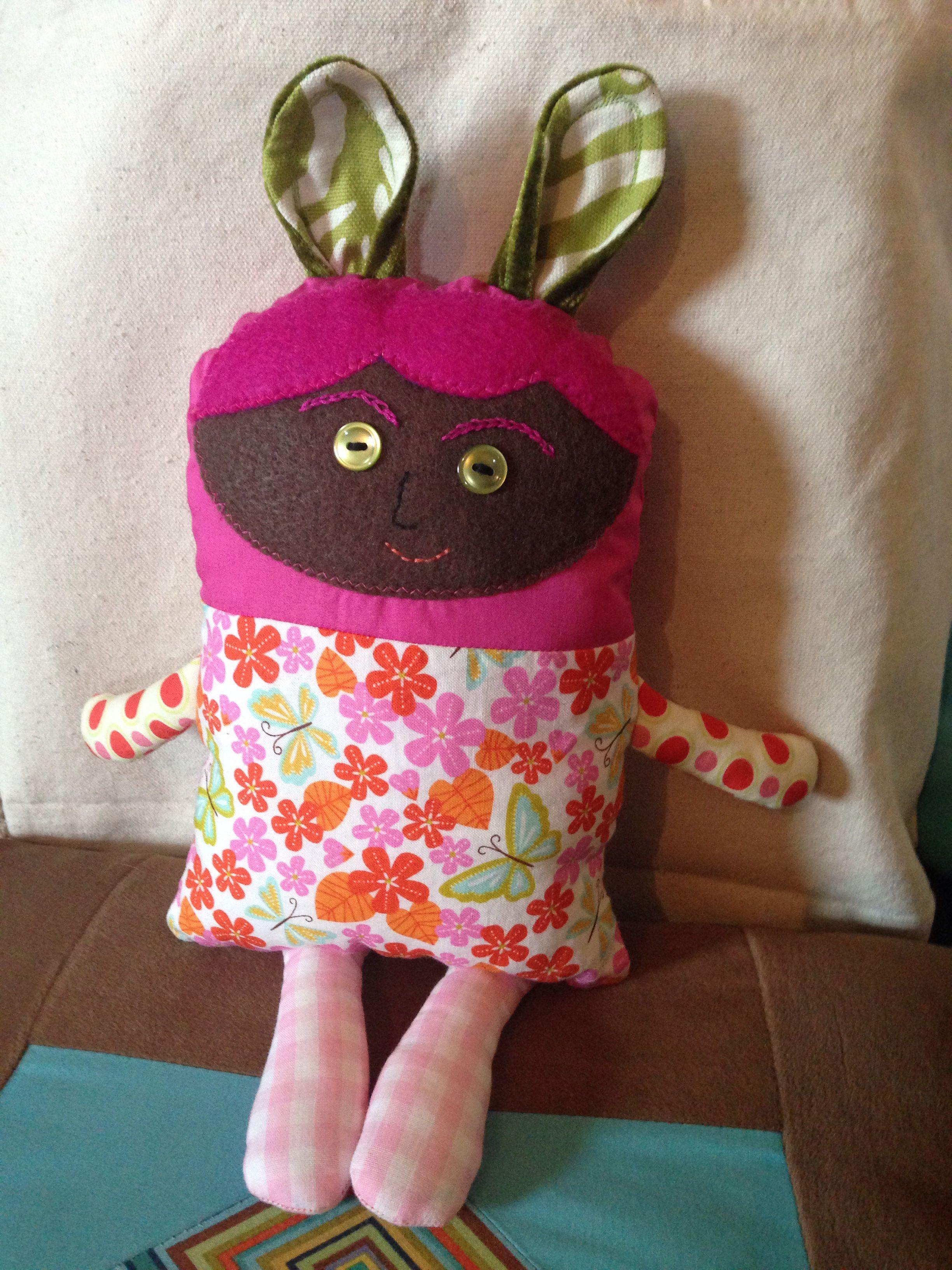 Here is a cute secrete keeper doll.