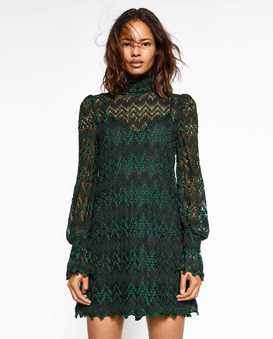 Image 2 de ROBE À MANCHES LONGUES de Zara