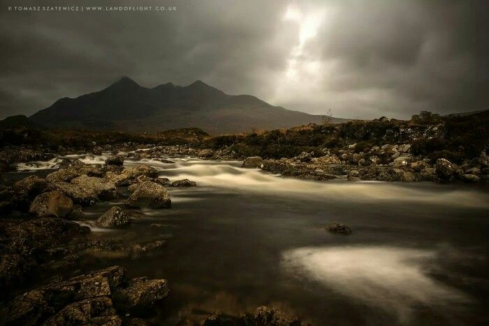 River Sligachan & The Cuilin , Isle of Skye