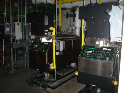 The KN-Series boiler from HydroTherm is the first commercial boiler ...