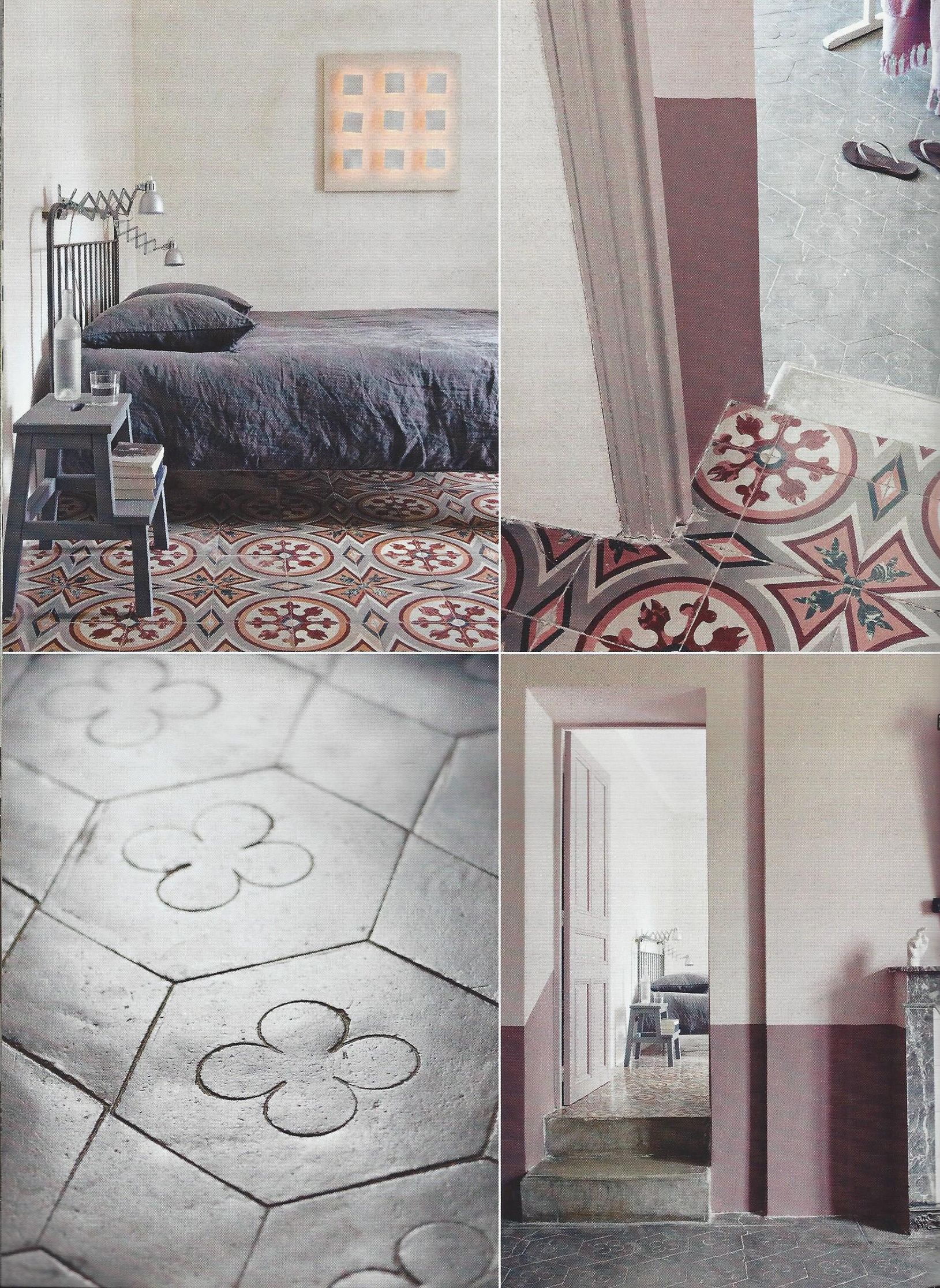House sol ciment Bedrooms Pinterest