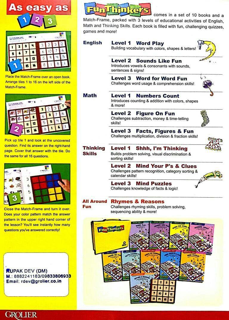 Fun Thinkers For Brain Stimulation Https Www Facebook Com Grolierparent Buku Buku Pelajaran Matrix addition math is fun