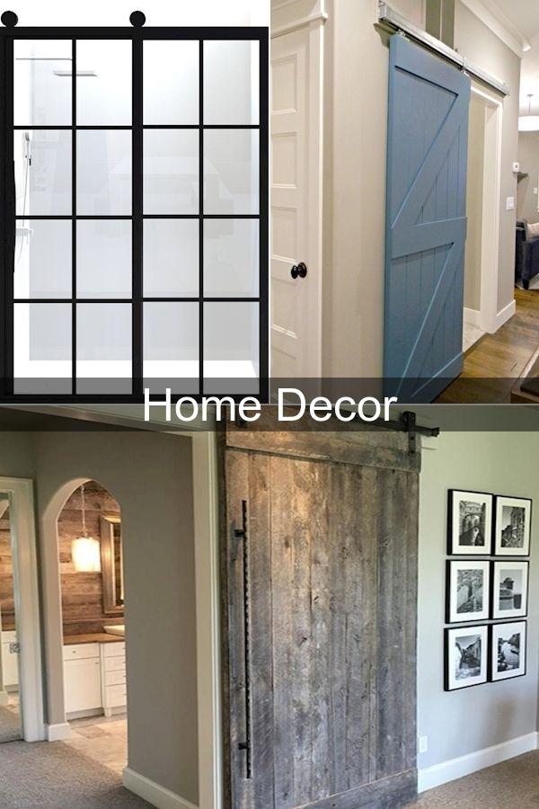 Modern Closet Doors Folding Glass Doors Interior Modern Sliding Barn Doors Interior In 2020 Decor Home Decor Home