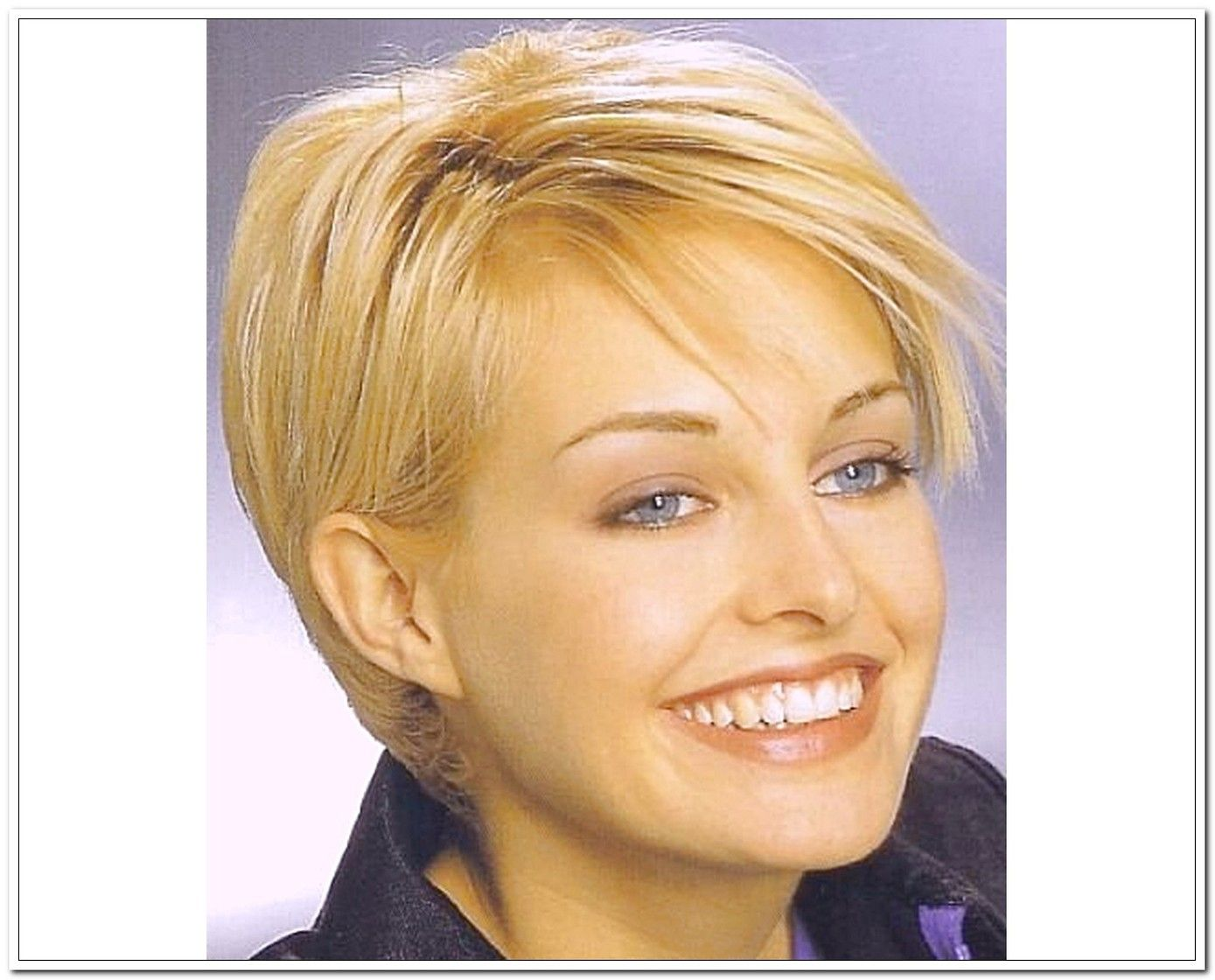 Easy hairstyles for round face shapes - Short Hairstyles For Round Faces 2016 Google Search