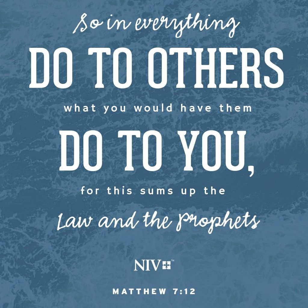 Image result for matthew 7-12 niv
