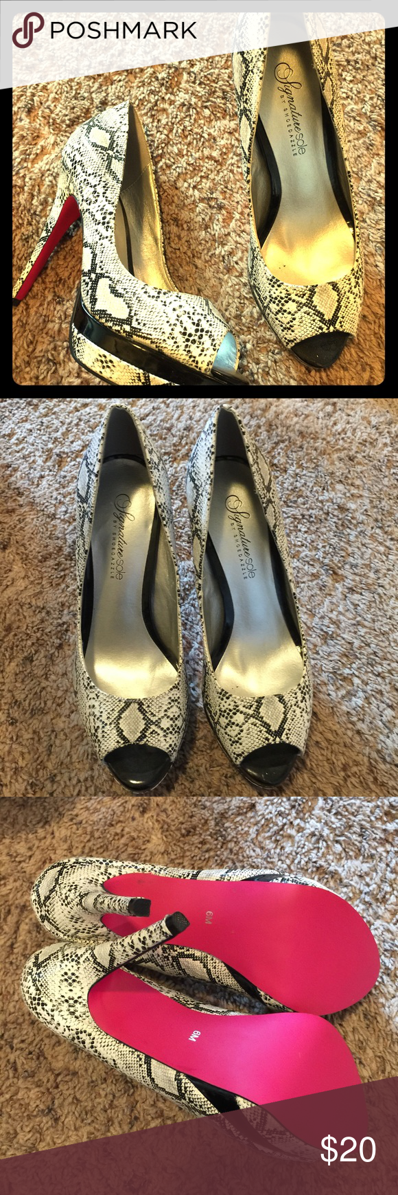 Signature sole heels size 6 by shoedazzle Brand new size 6 heels . Signature sole by shoe dazzle shoedazzle Shoes Heels