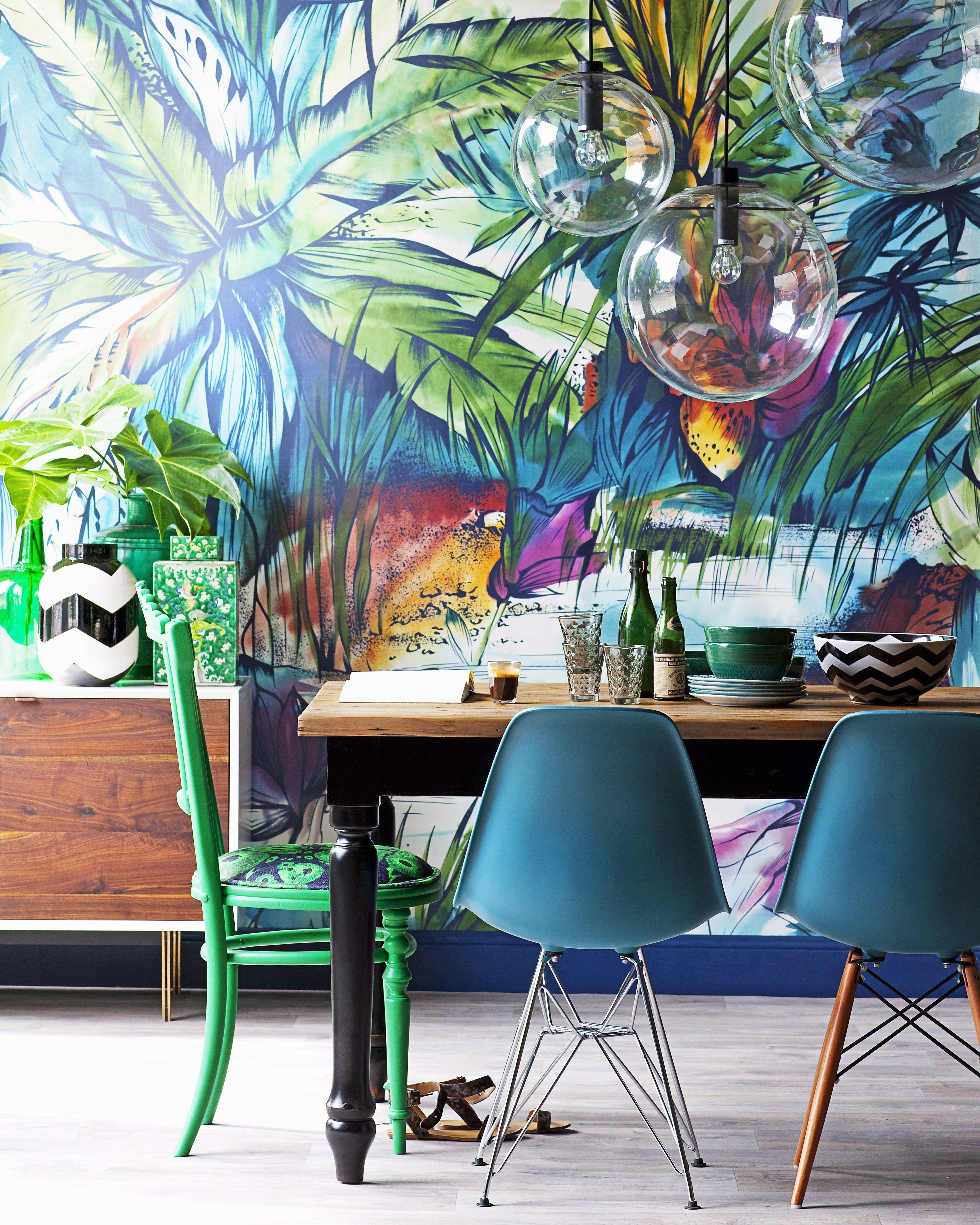 pin by raha on 6 maximalist style wallpaper decor home decor rh pinterest ca
