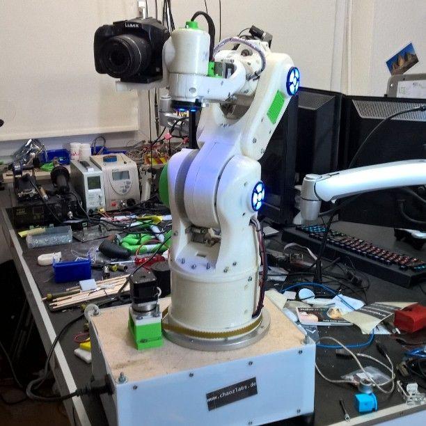 Robot cam. #makeoftheday