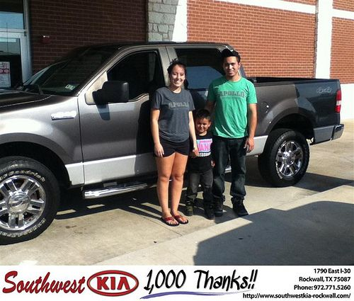 Thank You To Jordan Clark On The 2007 Ford F 150 From Anthony