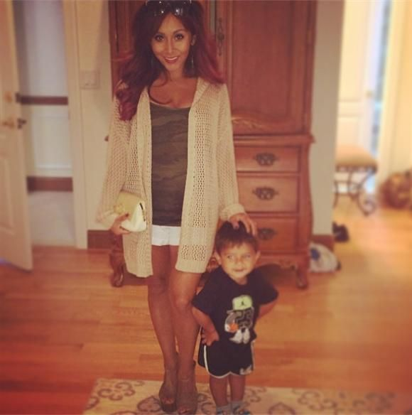 Snooki and her baby boy