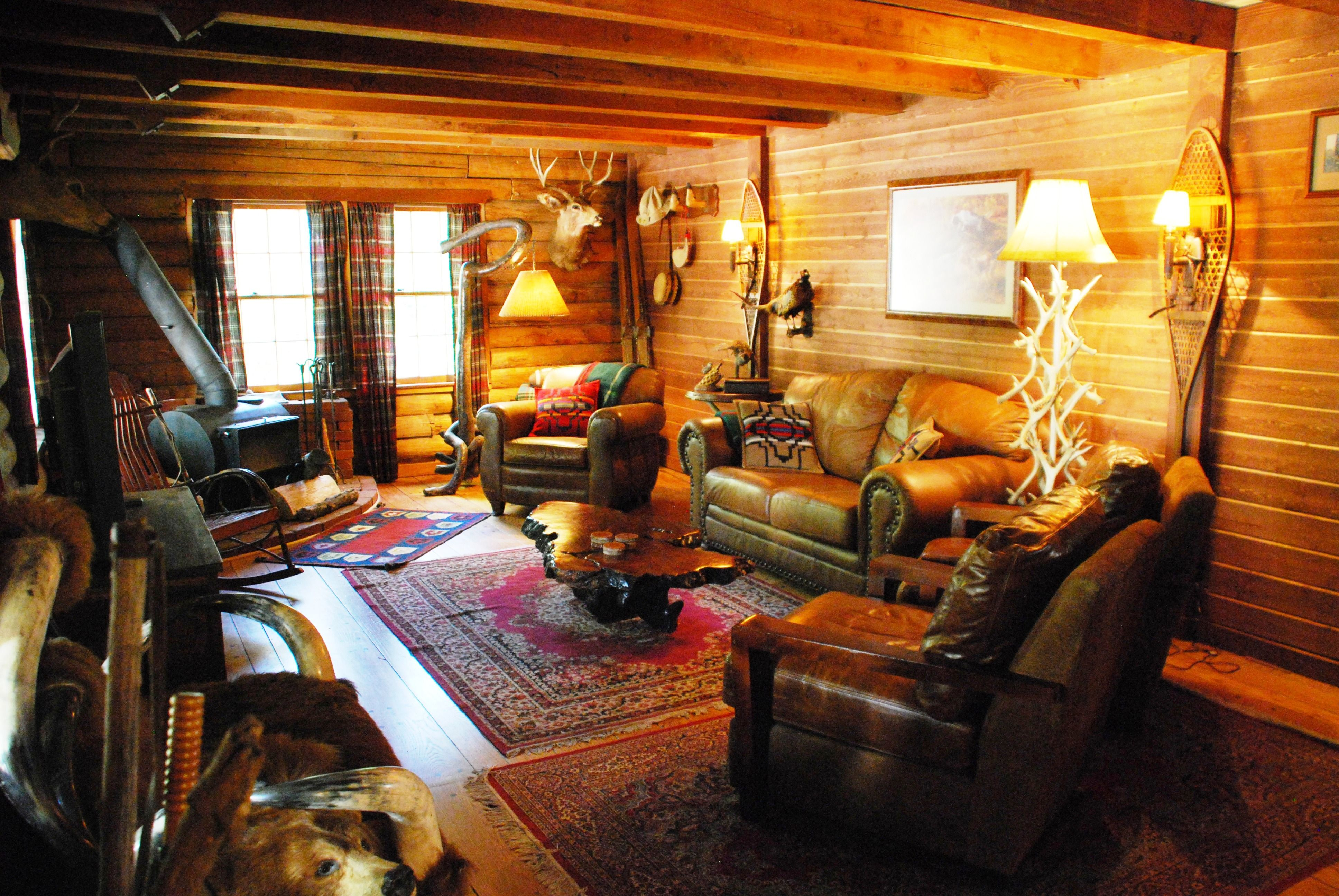 Miraculous 17 Best Images About Gentlemans Club Hunting Lodge Decor On Largest Home Design Picture Inspirations Pitcheantrous
