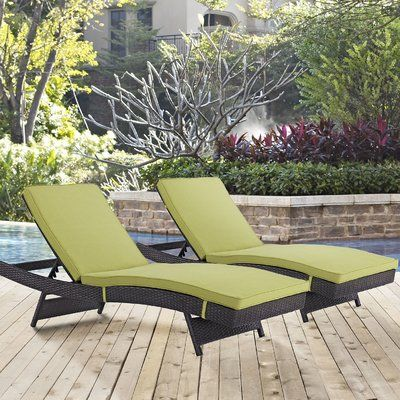 sol 72 outdoor brentwood chaise lounge with cushion products rh pinterest com