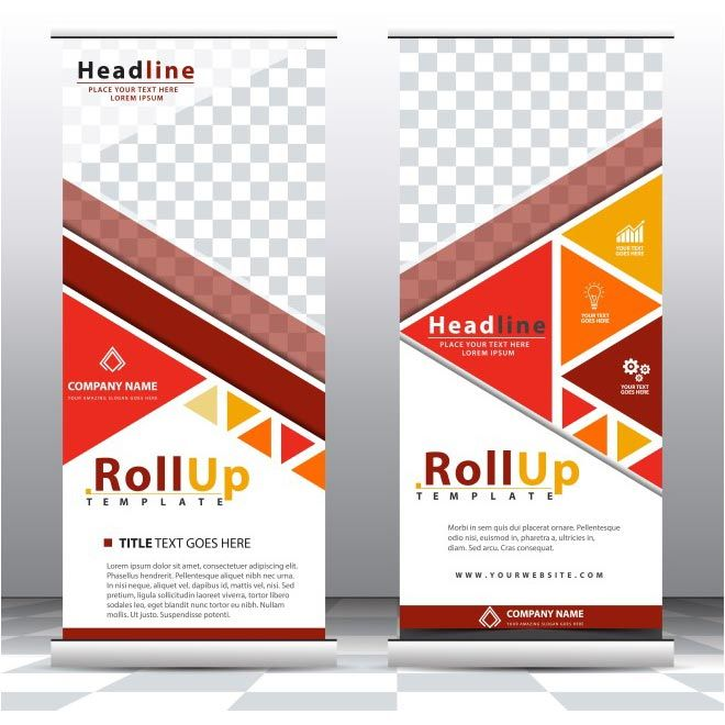 free vector Roll Up Design brochure    wwwcgvector free - free invitation layouts