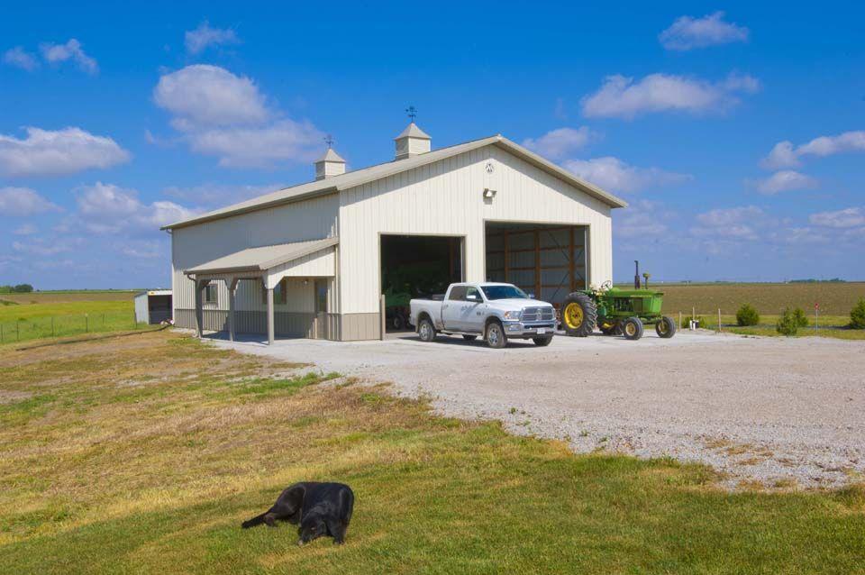 Morton Buildings farm storage building in Loomis